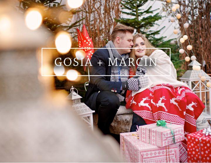 GOSIA + MARCIN