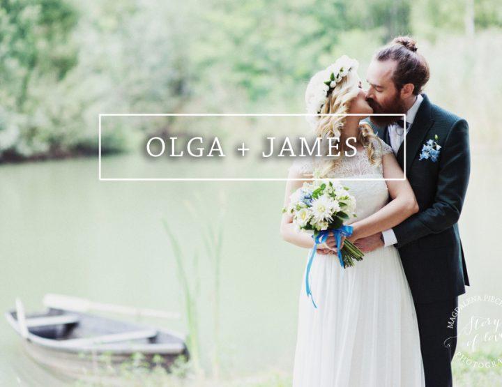 Ślub OLGA + JAMES {Oczyszczalnia - Stodoła Wszystkich Świętych}