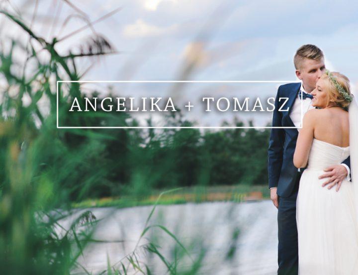 Ślub ANGELIKA + TOMASZ {Ełk, Folwark Łękuk}