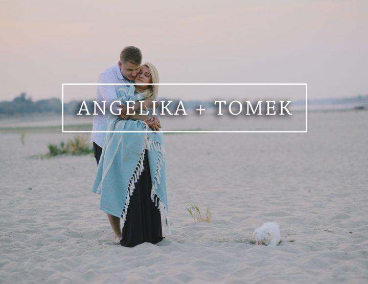 ANGELIKA + TOMASZ {sesja narzeczeńska}