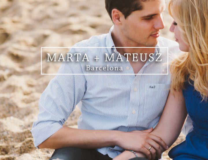 MARTA + MATEUSZ {Barcelona}