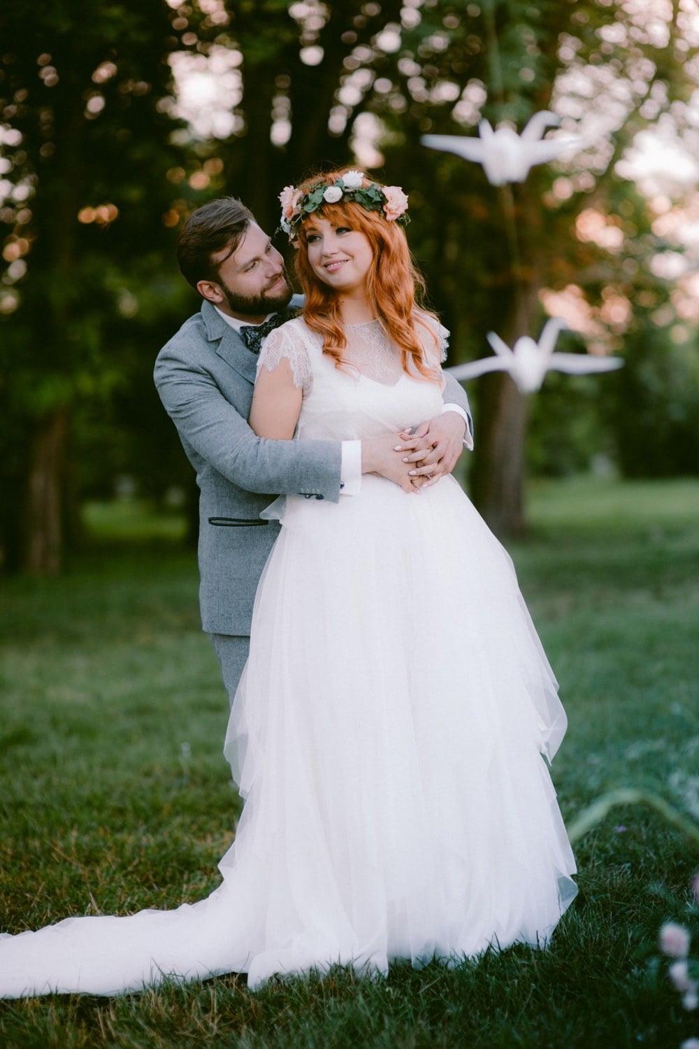 ślub boho Osada Młyńska