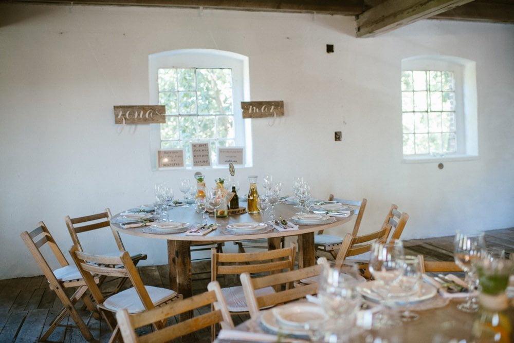 dekoracje DIY na ślubie w Młyn Kowalewko