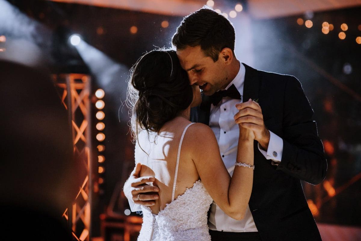 Pierwszy taniec pary Młodej w Pałac Zdunowo