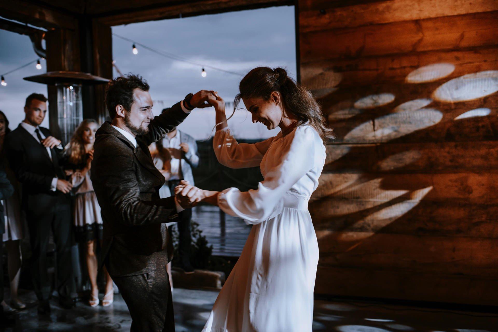 Pierwszy taniec w Folwarku Ruchenka