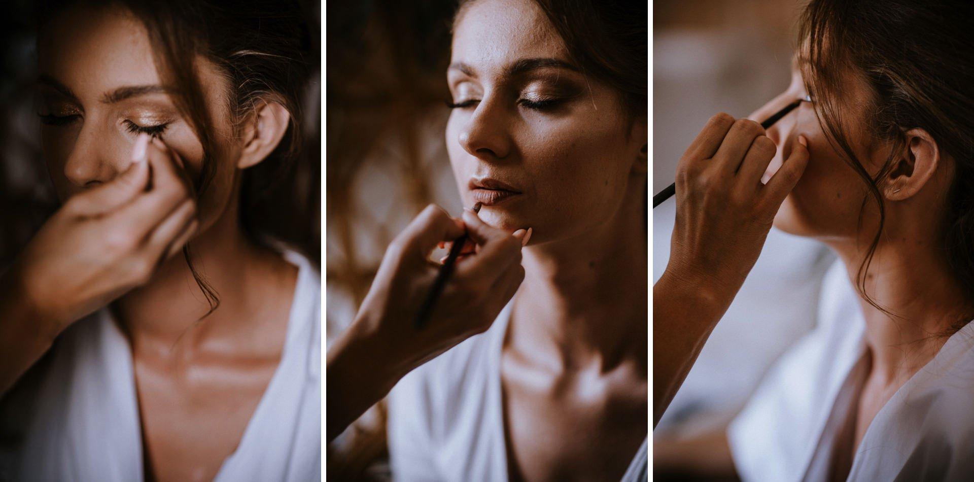Make up Panny Młodej