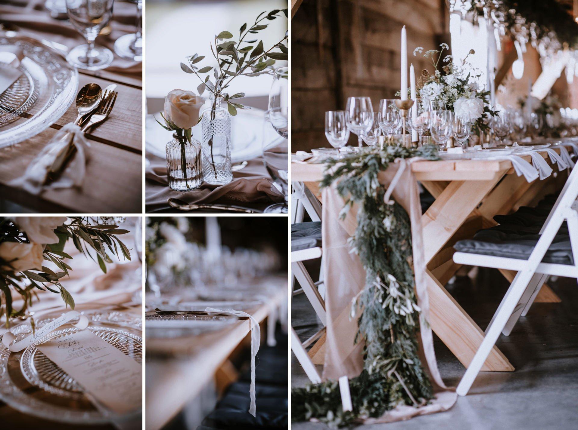Dekoracje ślubne w Folwarku Ruchenka