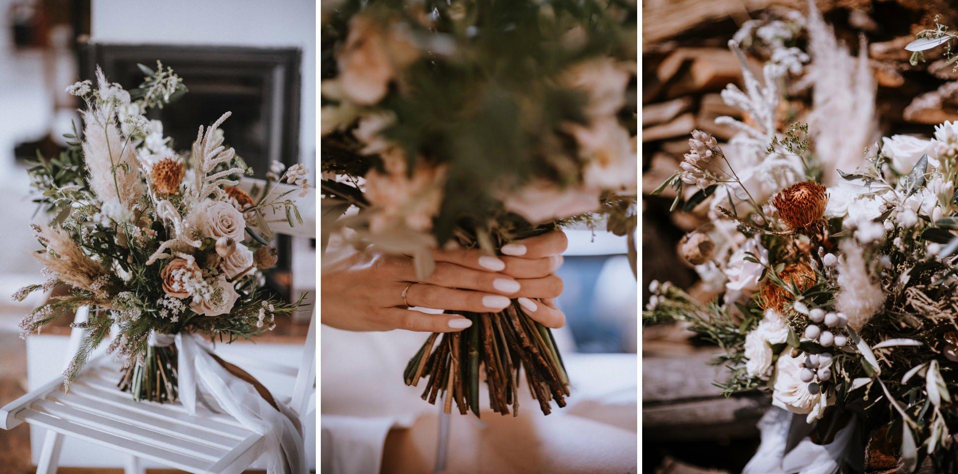 bukiet ślubny Kwiaty i Miut