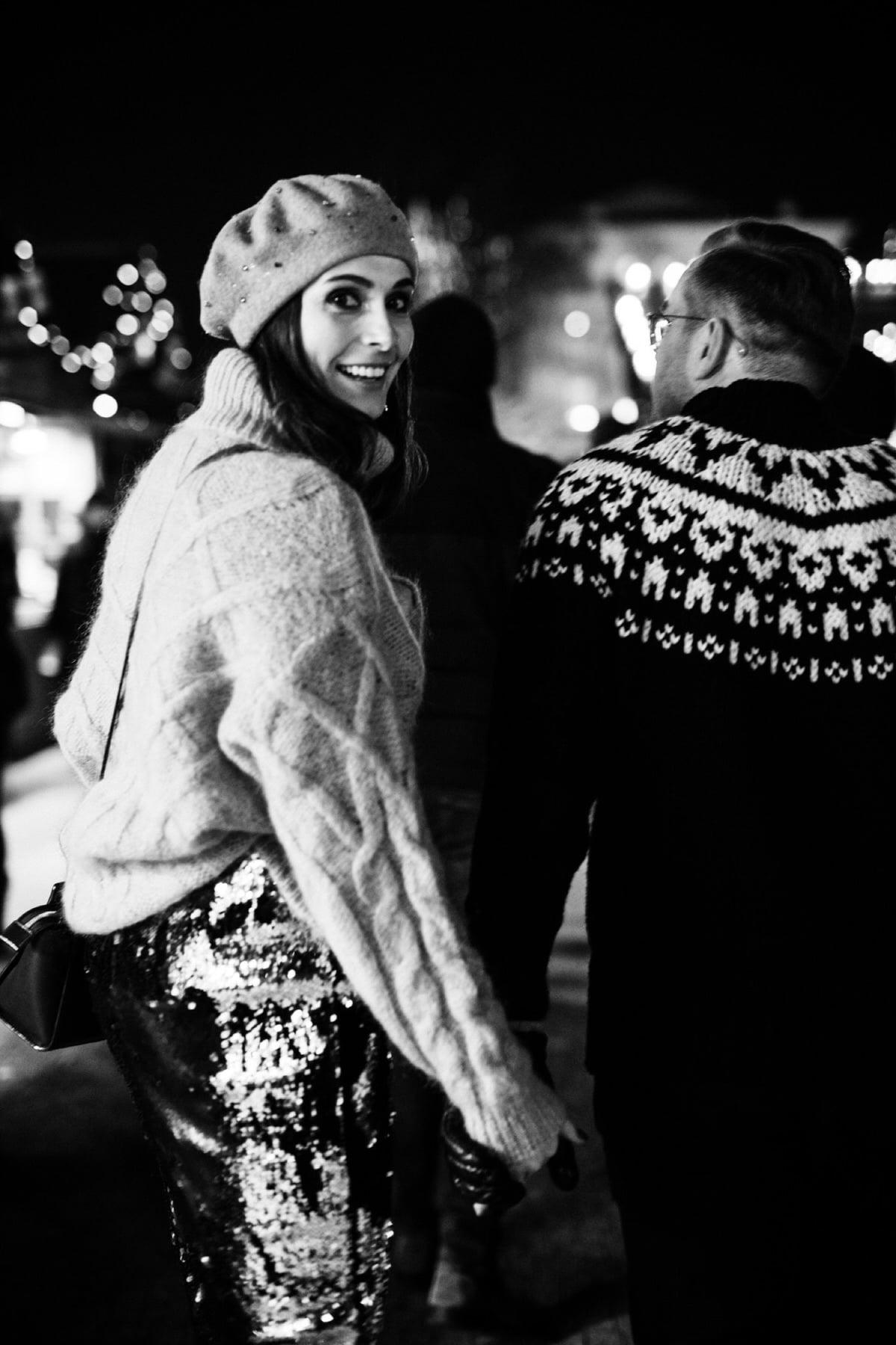 czarno-białe zdjęcia sesja świąteczna Poznań fotograf ślubny Magdalena Piechota Poznańskie Betlejem