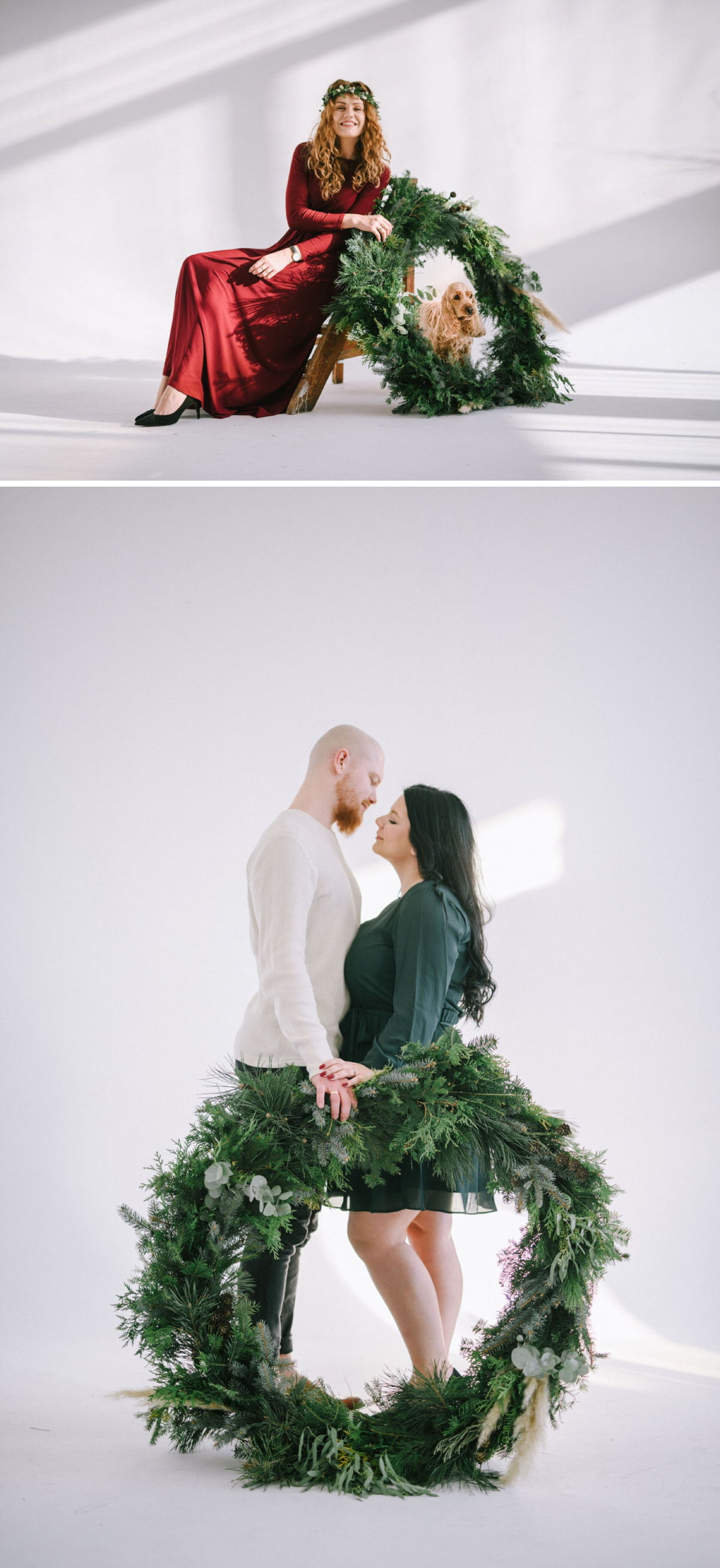 Boże Narodzenie mini sesja fotograf Warszawa