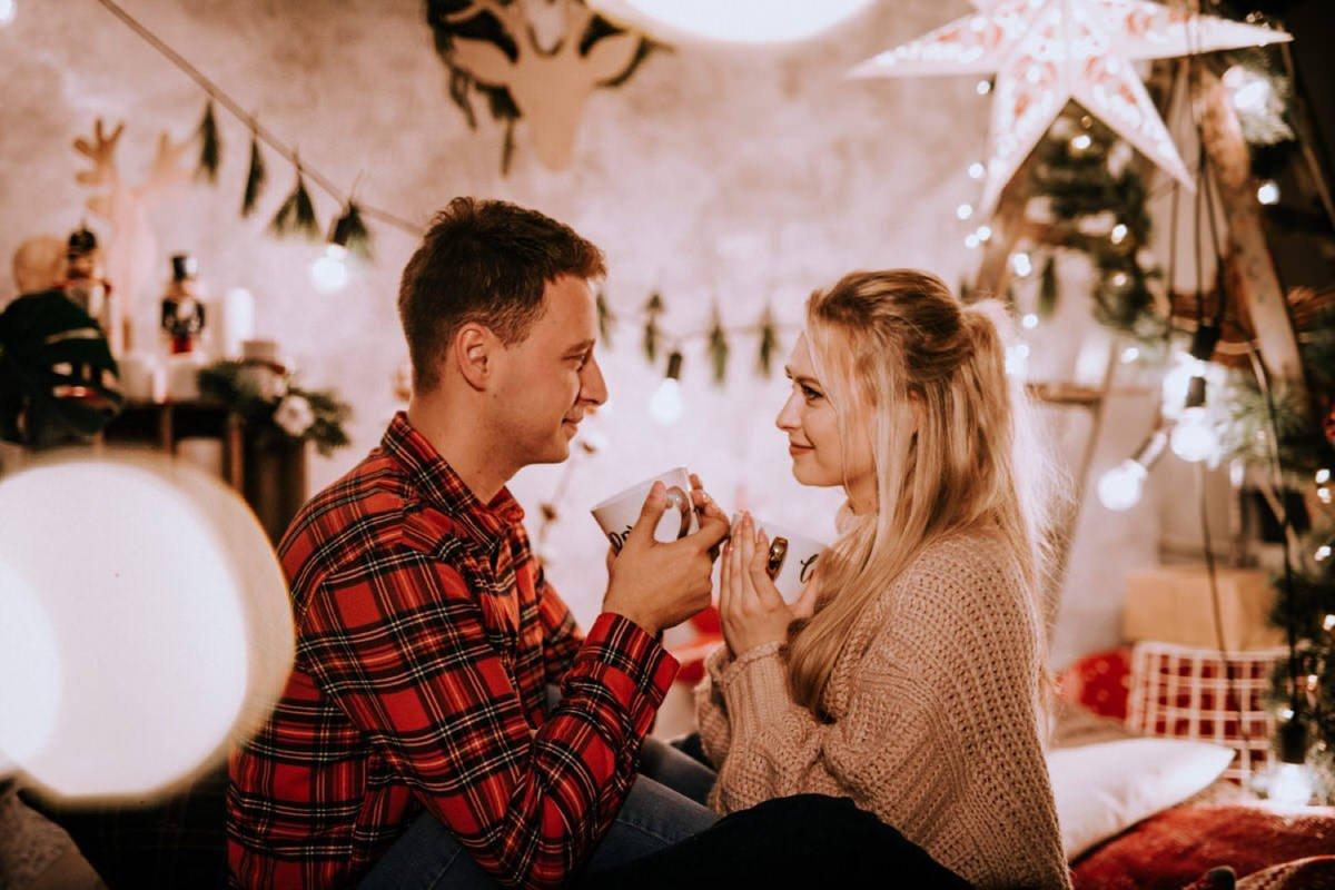 Boże Narodzenie mini sesja świąteczna fotograf ślubny Warszawa