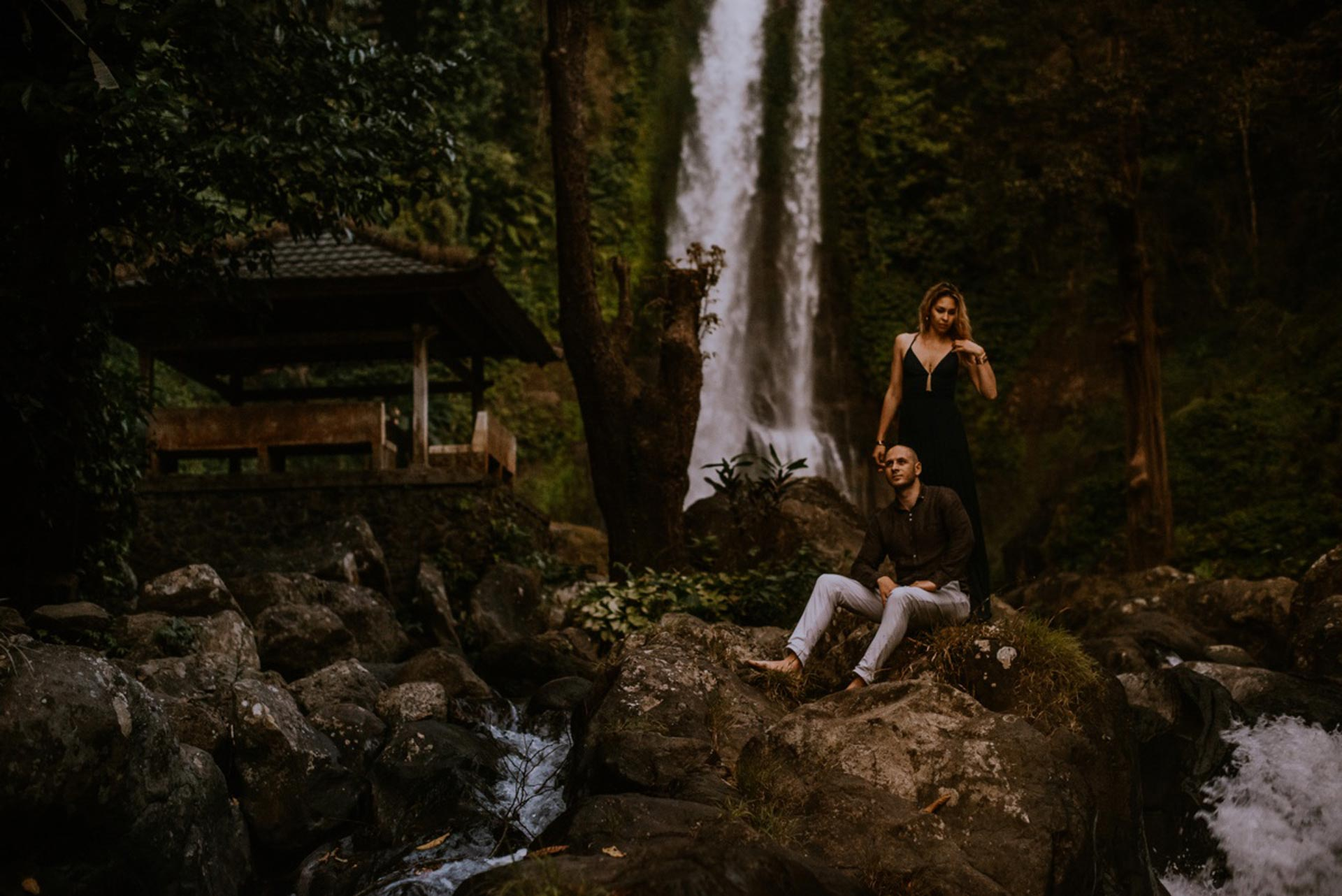 Bali preweding photoshoot couple Indonesia wedding photographer