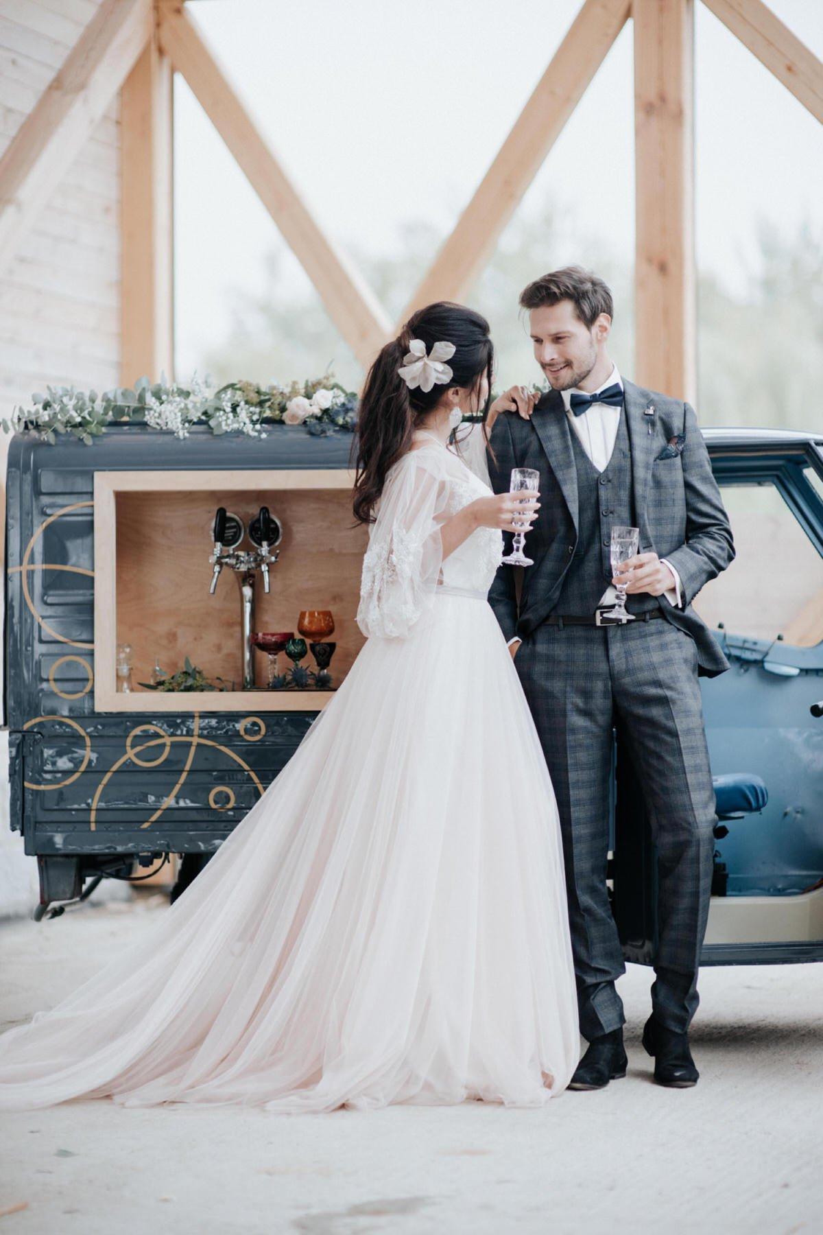 toskański włoski ślub Magdalena Piechota fotograf ślubny Spichlerz Wąsowo prosecco van
