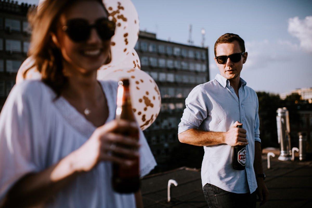 sesja narzeczeńska w Warszawie fotograf ślubny Magdalena Piechota