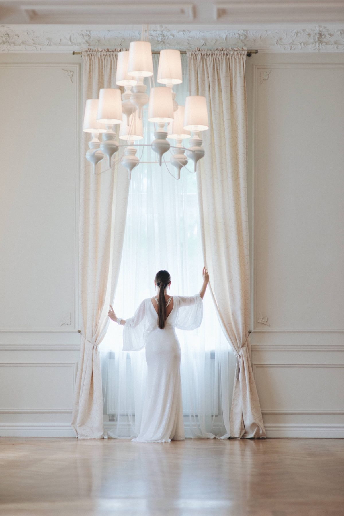 klasyka mody ślubnej, panna młoda, stylizacja ślubna
