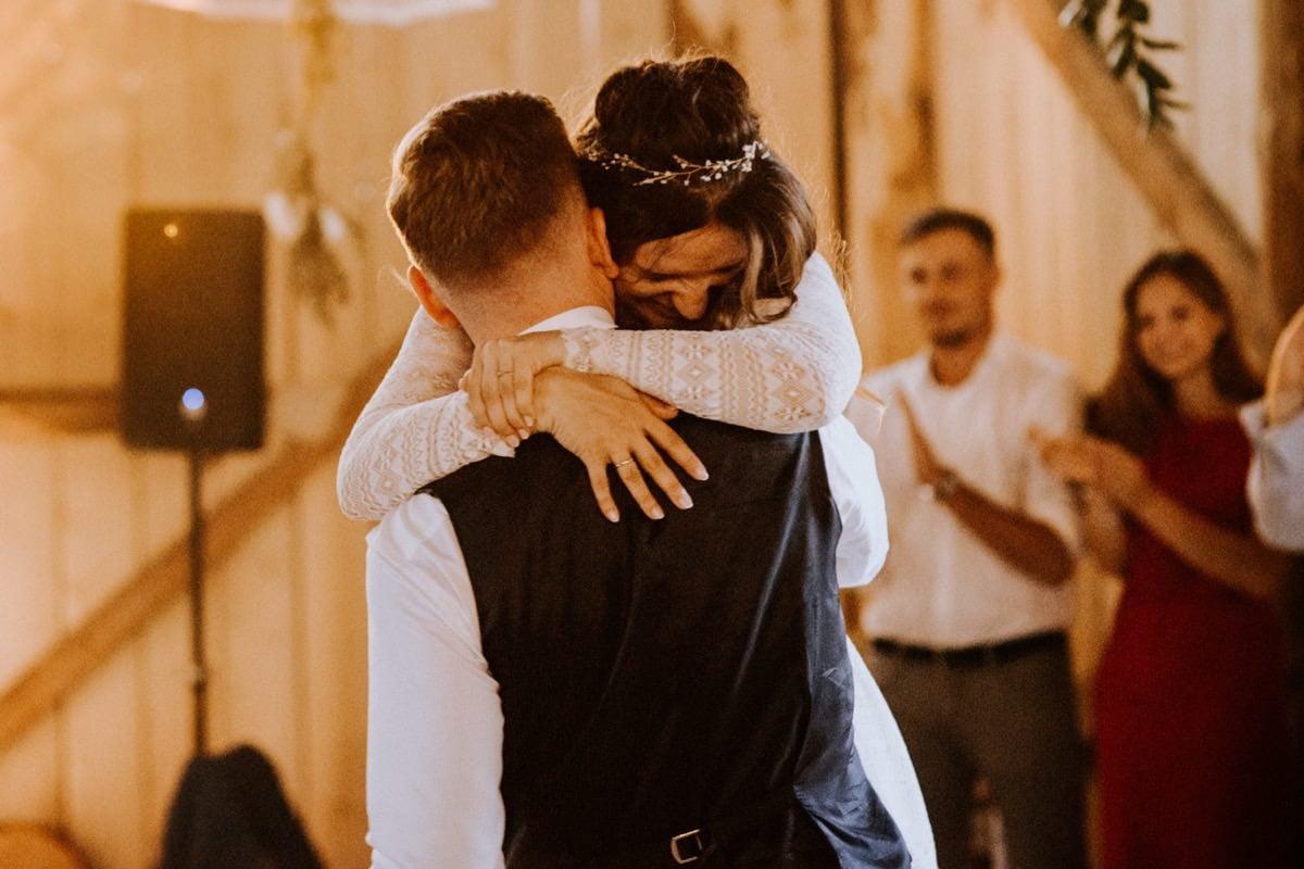 pierwszy taniec, wesele w stodole