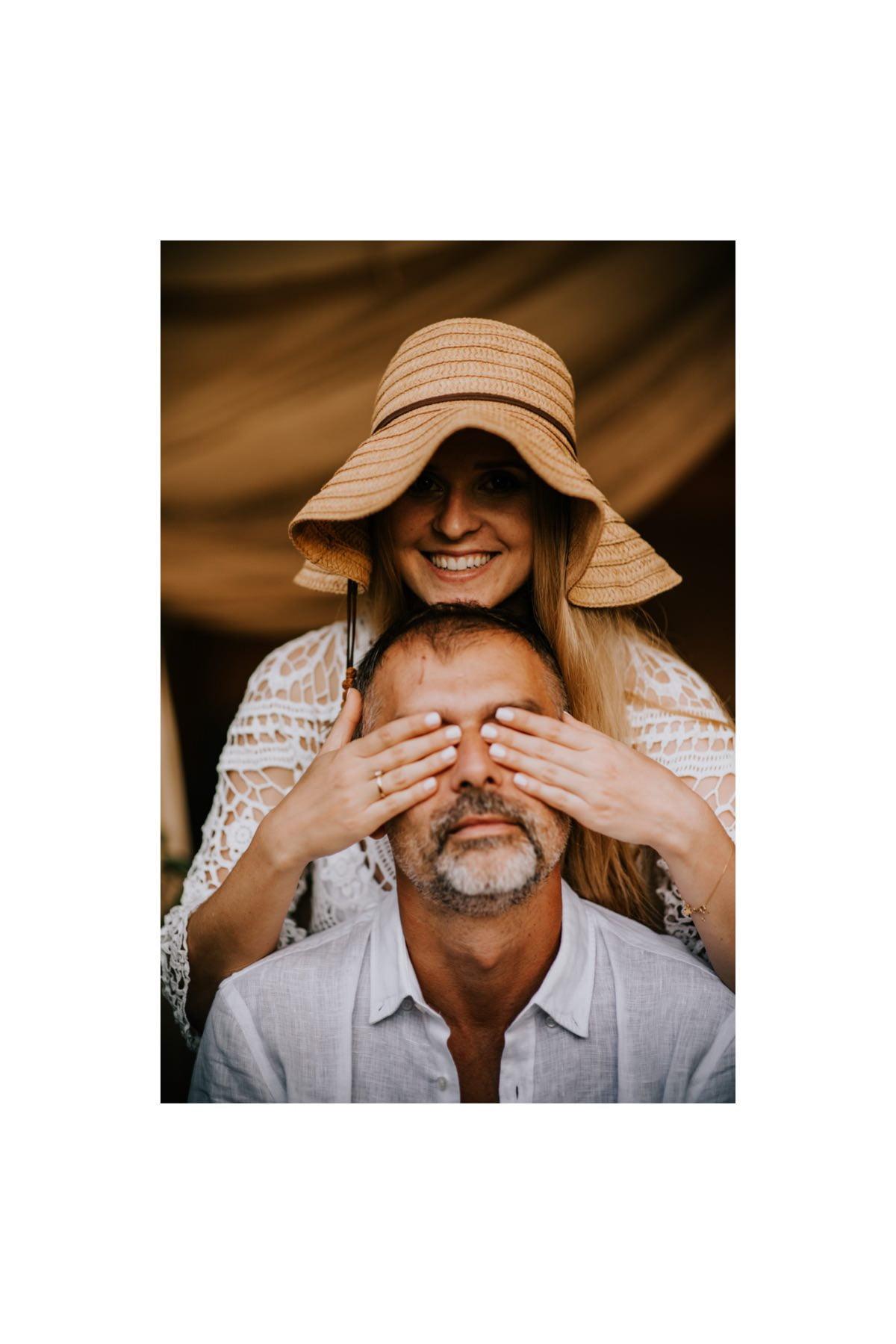 narzeczeni, mężczyzna i kobieta portret