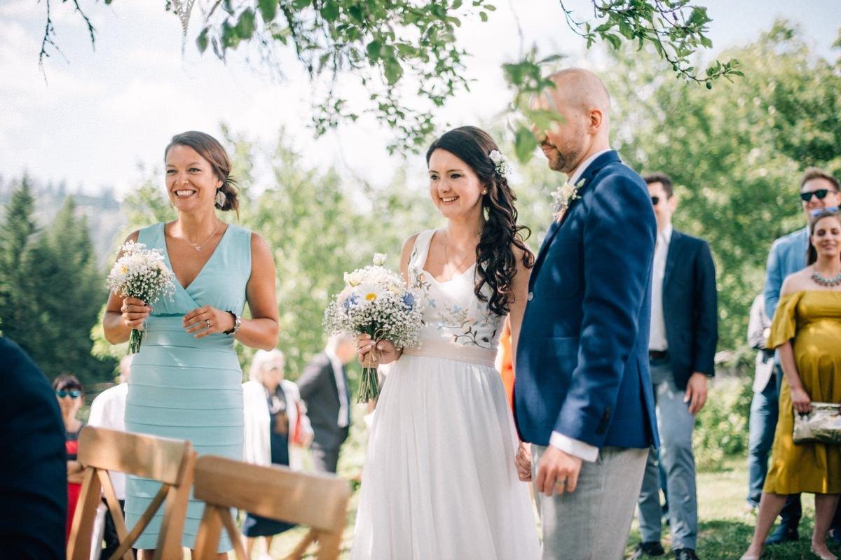 cywilny ślub w plenerze w górach