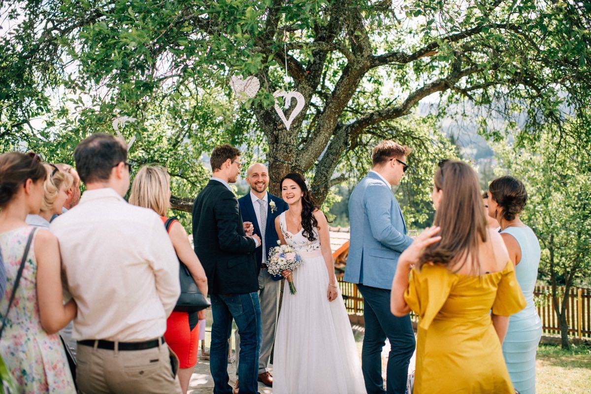 ślub w plenerze w górach