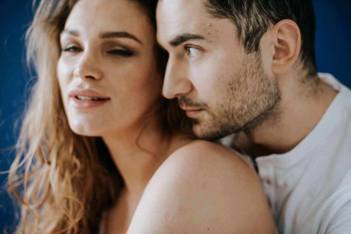intymna sesja we dwoje