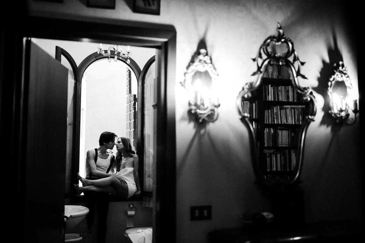 couple lovers, intymna sesja we dwoje we Włoszech