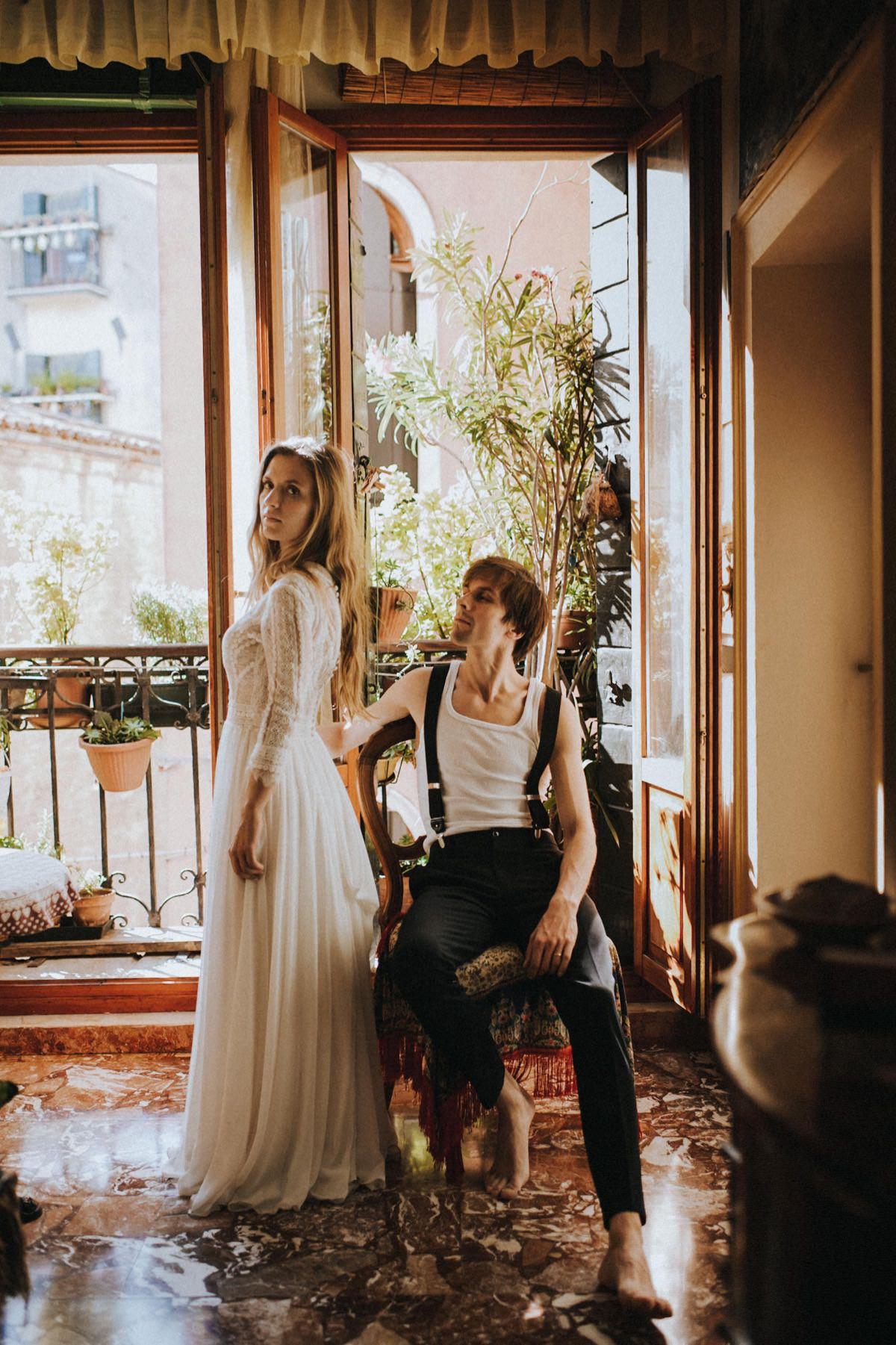 kameralny ślub we Włoszech