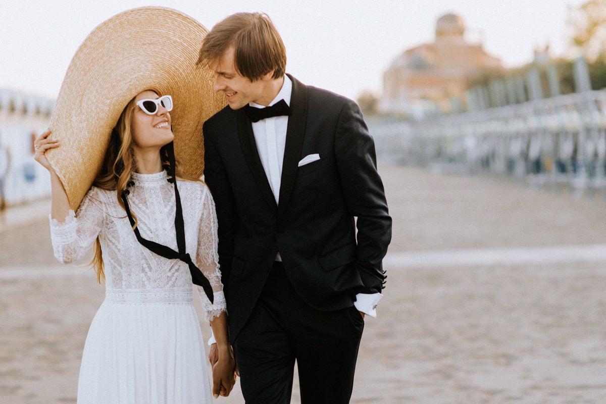 Wenecja plaża, ślub na plaży, beach wedding Italy