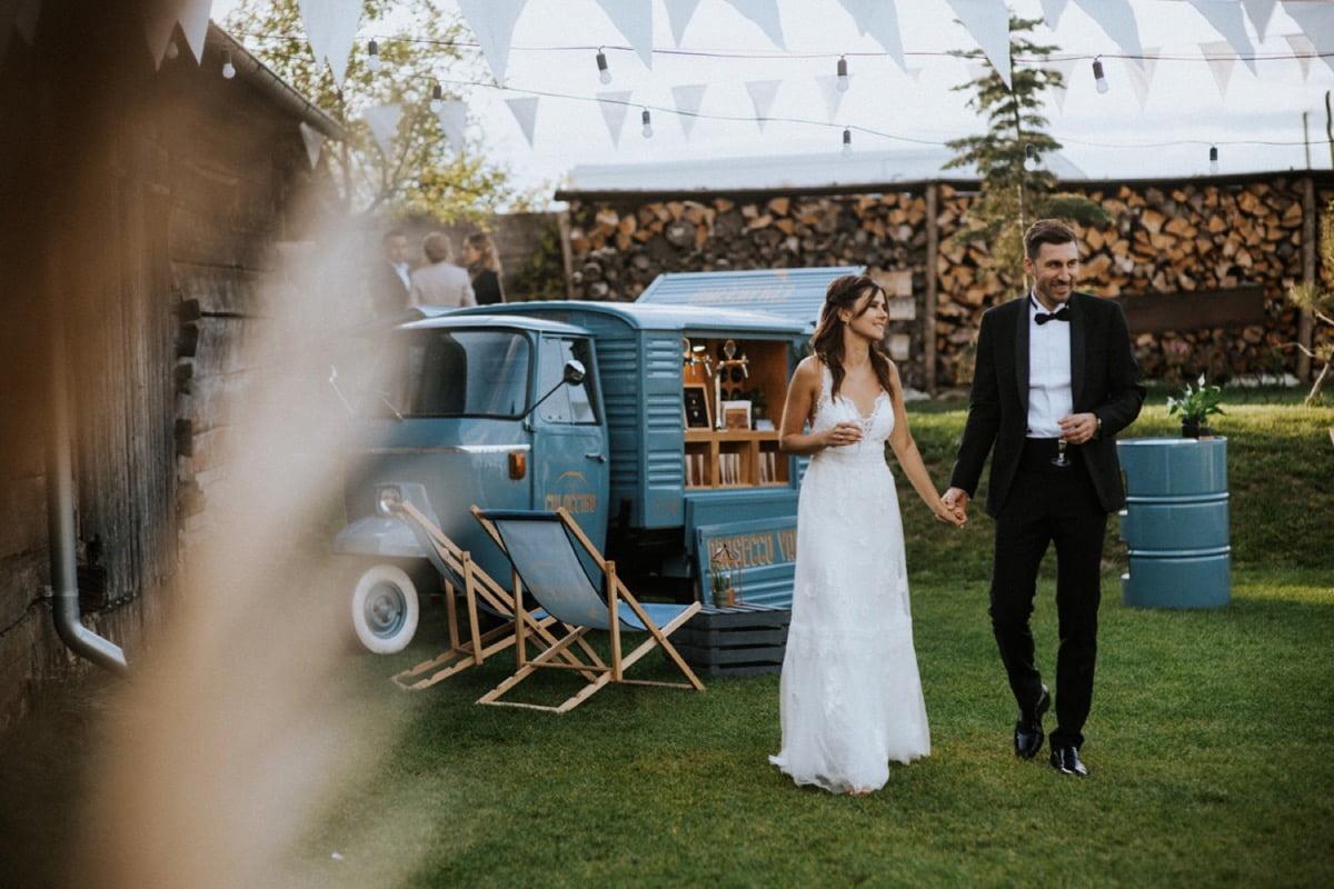 prosecco van, ślub w plenerze