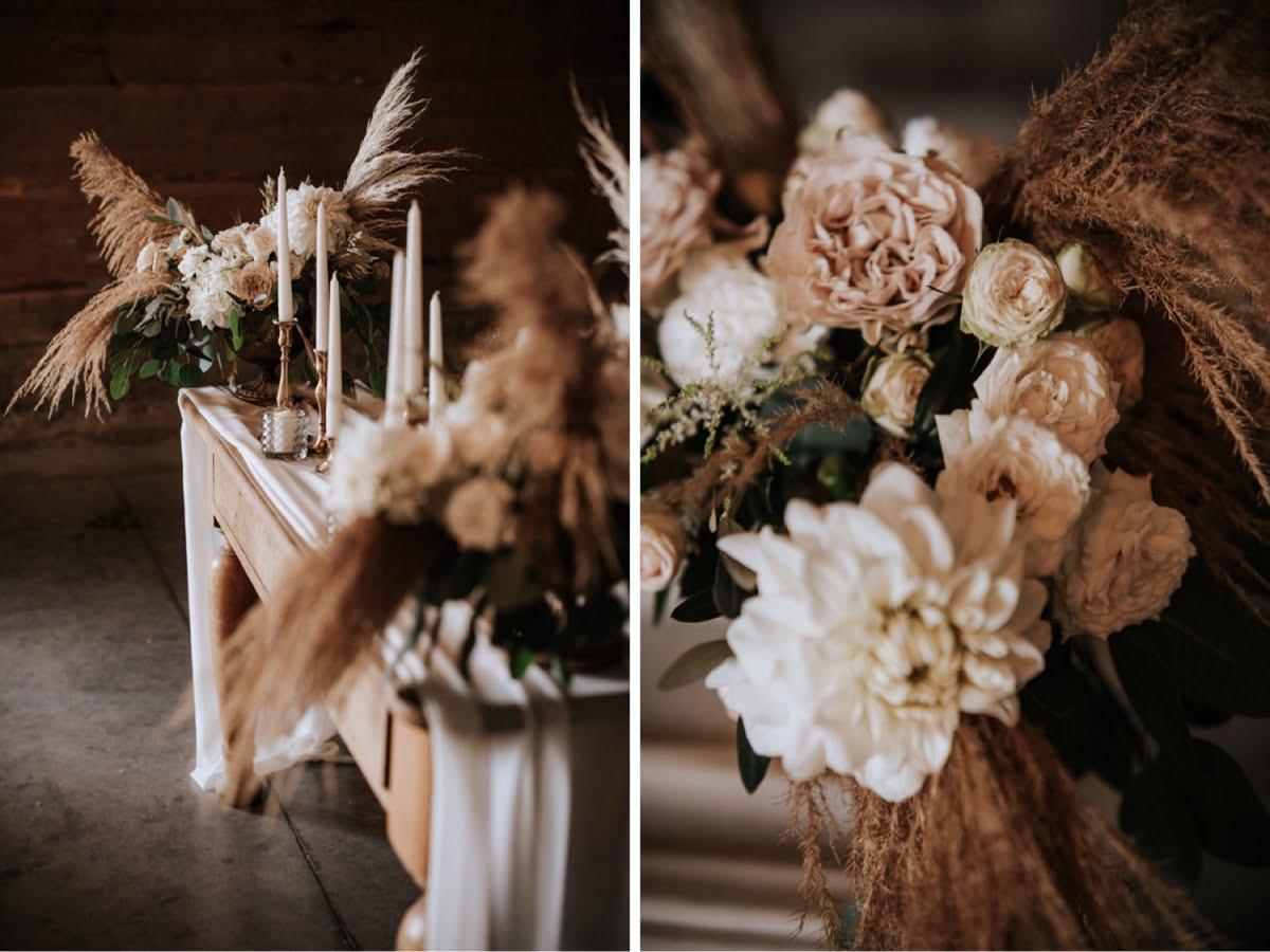 dekoracje ślubne, kwiaty do ślubu