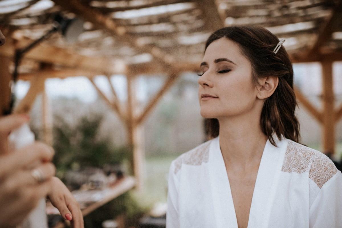 makijaż ślubny, przygotowania panny młodej