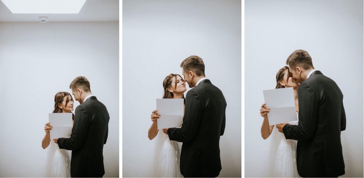 intymne czytanie przysięgi, ślub w stodole