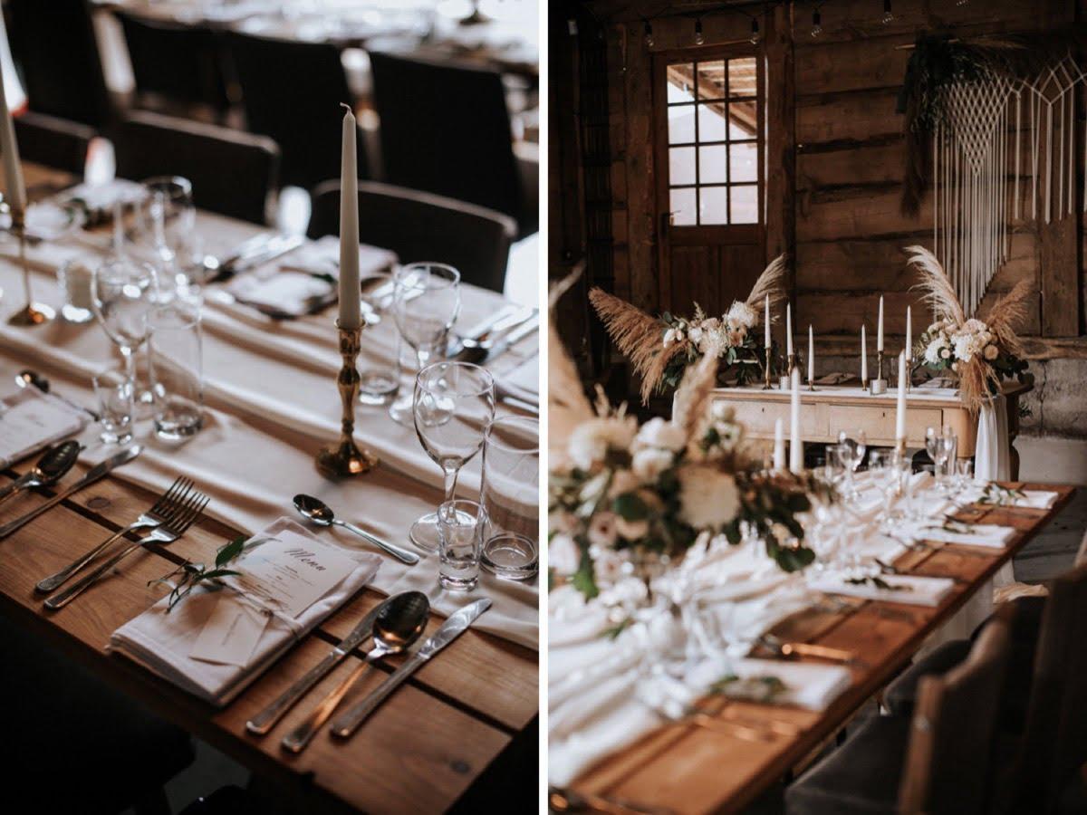 dekoracje ślubne, ślub w stodole