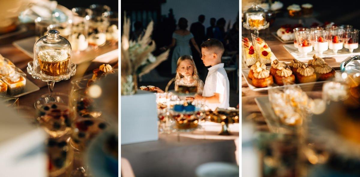 Candy bar na weselu