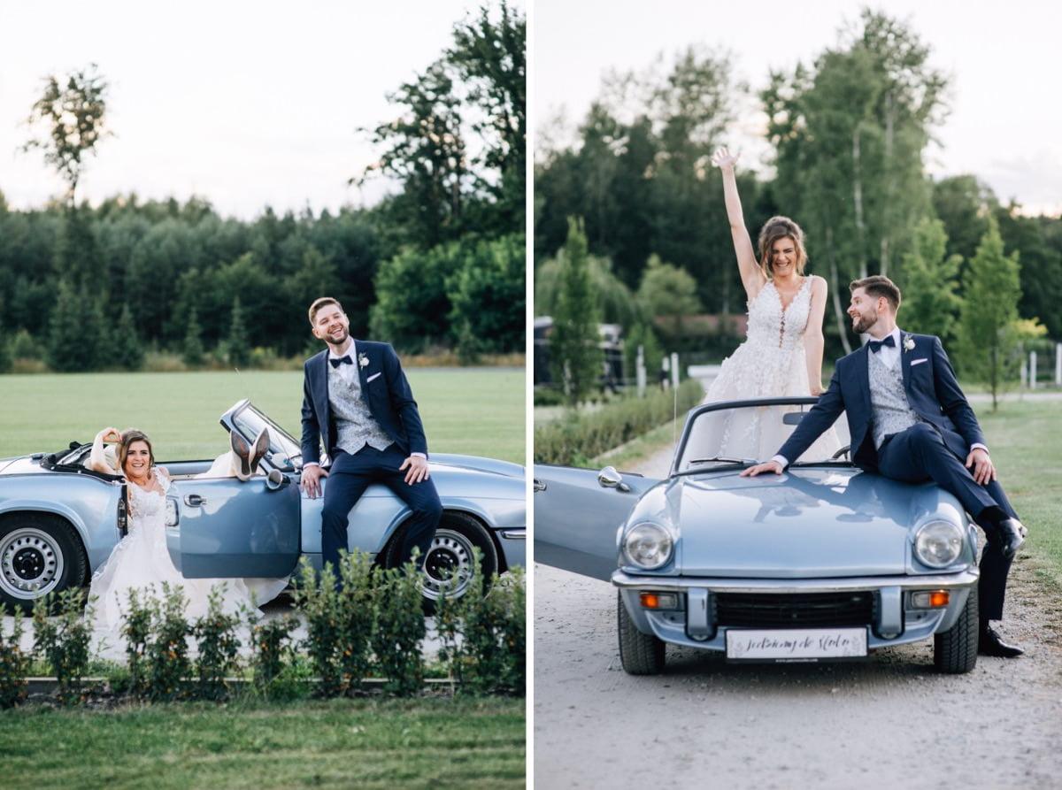 mini sesja w dniu ślubu Warsaw Polo Club