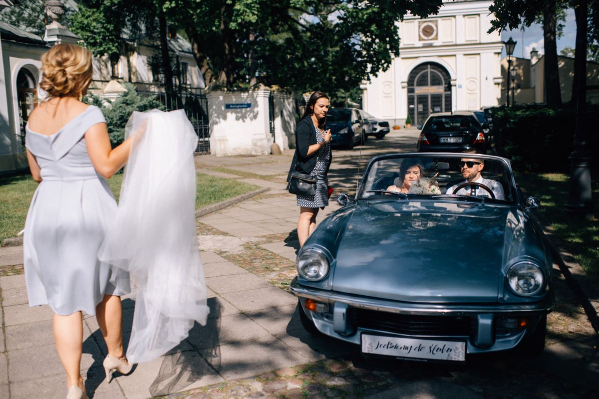 elegancki ślub w stylu glamour fotograf slubny Warszawa