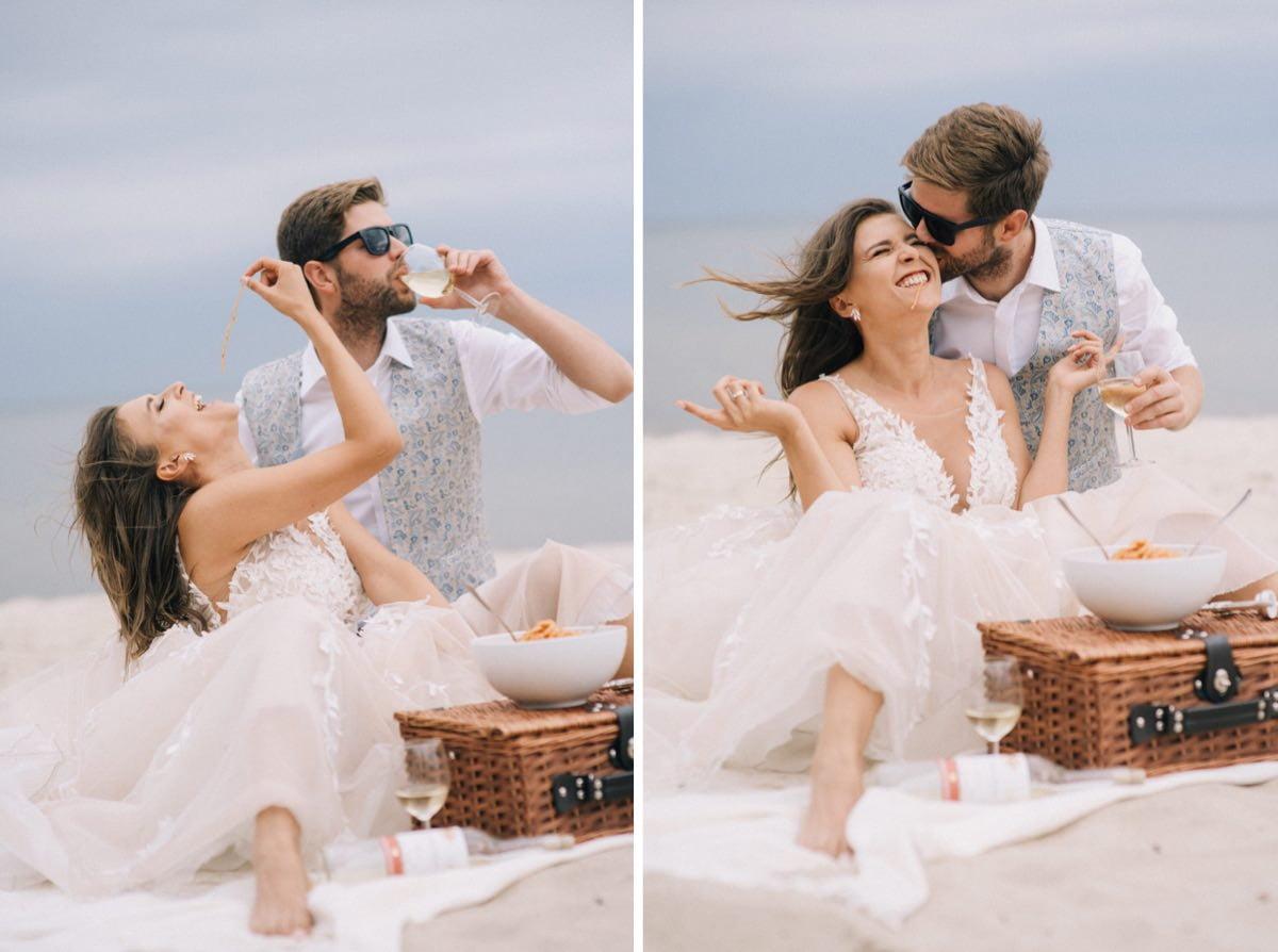 włoski klimat sesji poślubnej