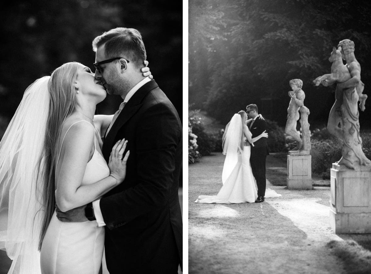 eleganckie zdjęcia ślubne