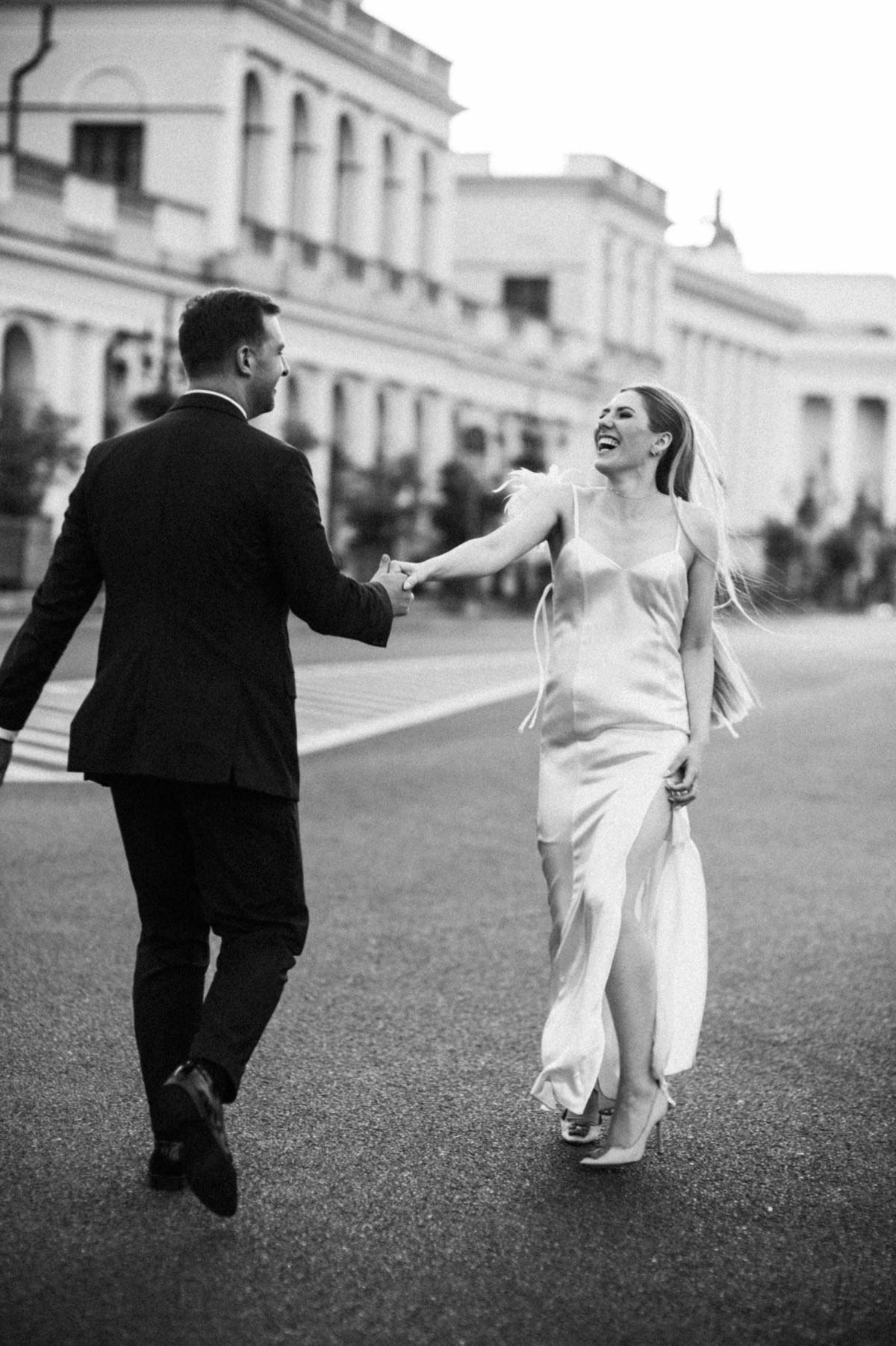 miejska paryska sesja ślubna